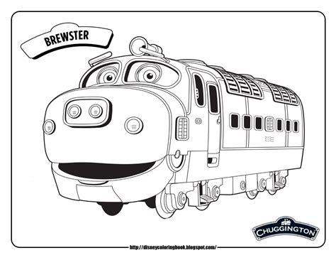 Chuggington 1: Free Disney Coloring Sheets | Learn To Coloring