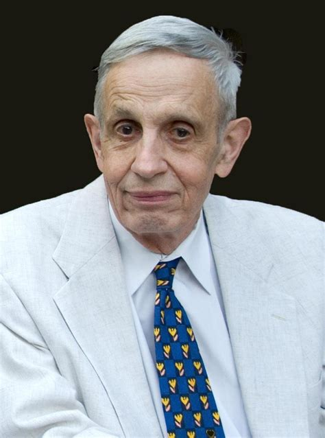 John Nash, Mathematician, is Awarded the Abel Prize