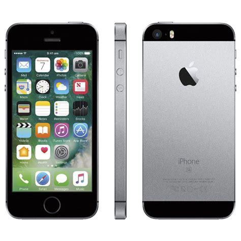Apple iPhone SE 128GB Space Gray - eMAG