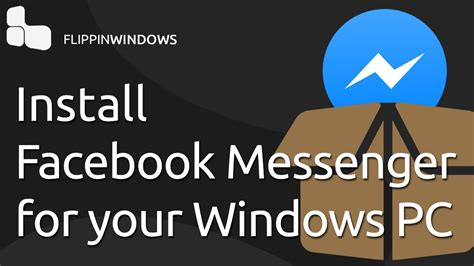 Facebook Messenger for your PC - YouTube