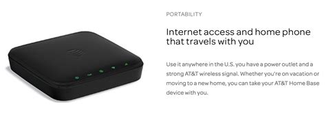 AT&T's Wireless Home Phone & Internet Rural Plan - 250GB