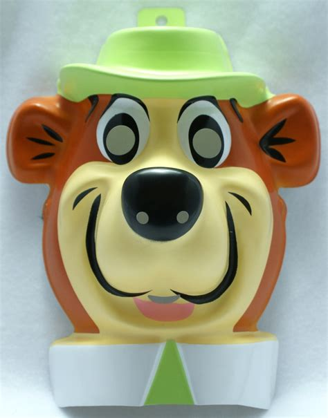 Hanna Barbera Yogi Bear Halloween Mask Y058 | eBay