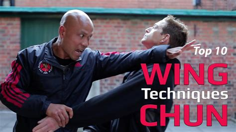 Top 10 wing chun techniques - YouTube