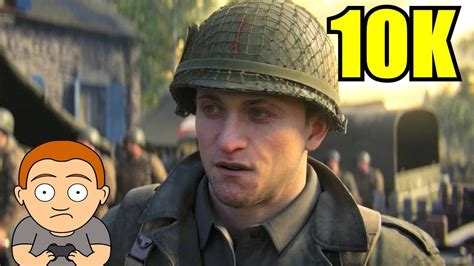 Call Of Duty WW2 10K Resolution GTX 1080 TI Frame Rate