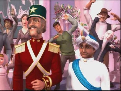 Barbie in the Nutcracker images Major Mint and Captain