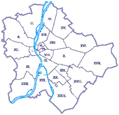 Which district in Budapest is the poorest and backward