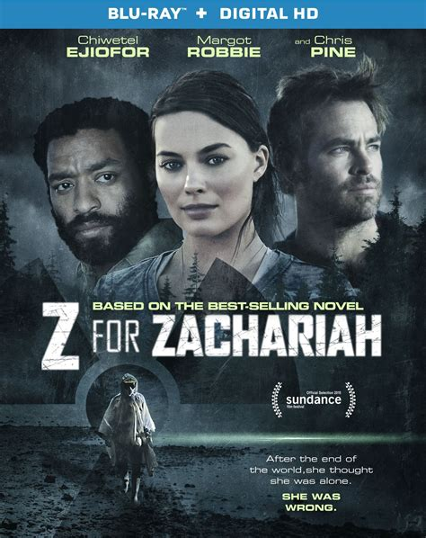 Z for Zachariah DVD Release Date October 20, 2015