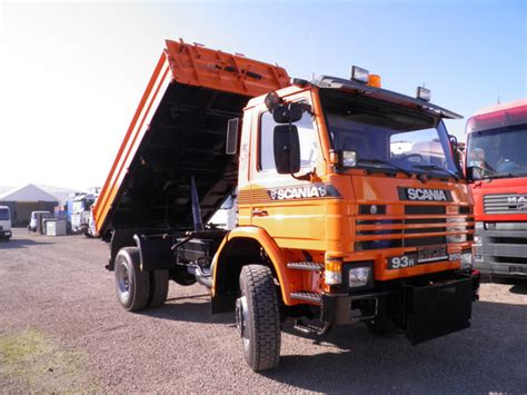 Scania 93H250 4x4 KIPPER tipper from Poland for sale at