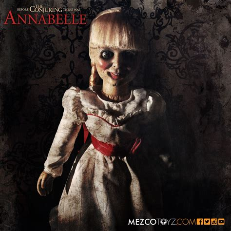 The Conjuring Annabelle Scaled Prop Replica – Mezco Toyz