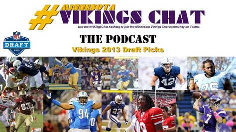 Minnesota Vikings 2013 NFL Draft Picks, Day 3 - YouTube