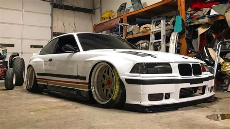 BMW E36 M3 TURBO PANDEM WIDEBODY TUNING PROJECT 🔧 - YouTube