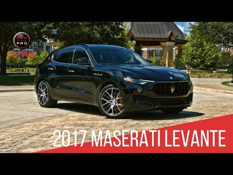 2017 Maserati Levante First Drive Review - Motor Trend