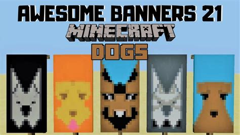 5 AWESOME MINECRAFT BANNER DESIGNS WITH TUTORIAL! #21