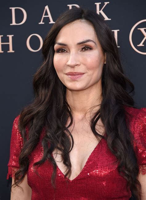 FAMKE JANSSEN at Dark Phoenix Premiere in Hollywood 06/04