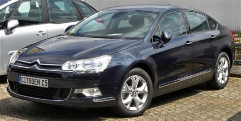 Citroen C5 Beats BMW 528i As Israel's New State Car - The
