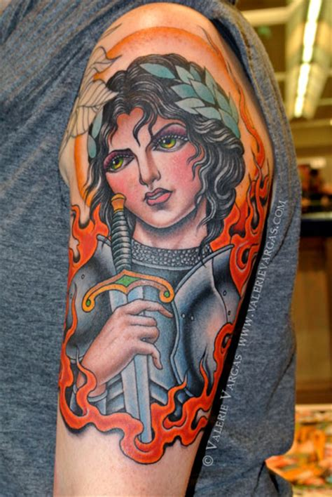 Joan Of Arc Tattoo Quotes