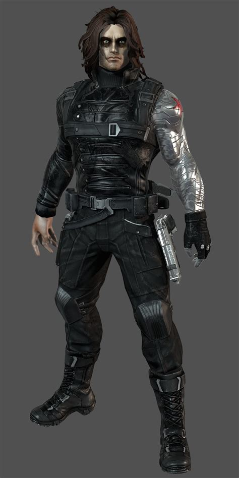 Winter Soldier - Marvel Heroes Complete Costume List