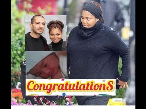Janet Jackson gives birth to BABY Eissa Al Mana today at