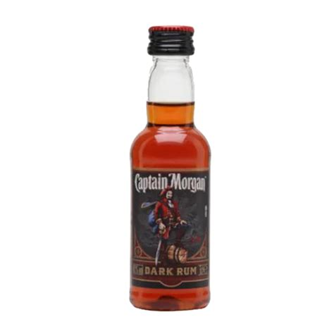 Captain Morgan Dark Rum – Miniature | GOLDENACRE WINES