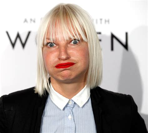 Brace yourself! Photos of Sia's uncovered face might make