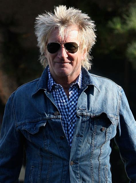 Rod Stewart interview with woman and home magazine - Woman