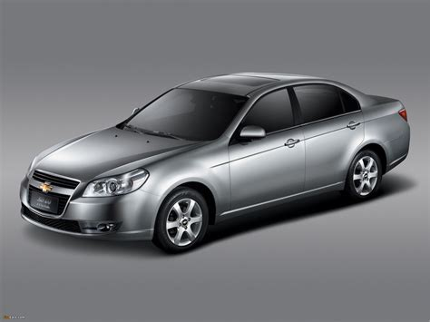 2007 Chevrolet Epica Photos, Informations, Articles