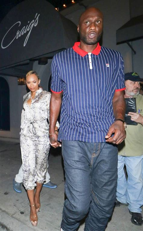 Lamar Odom Pays Tribute to New GF and Khloe After Shade