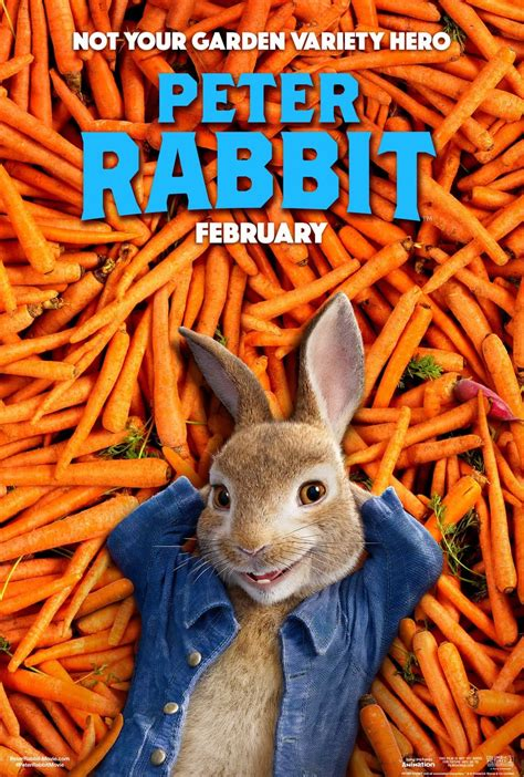 Peter Rabbit Movie: Hops Into Theaters February 9th