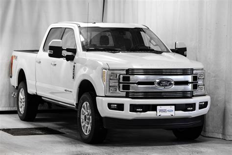 New 2018 Ford F-250 LIMITED White Platinum Tri-Coat