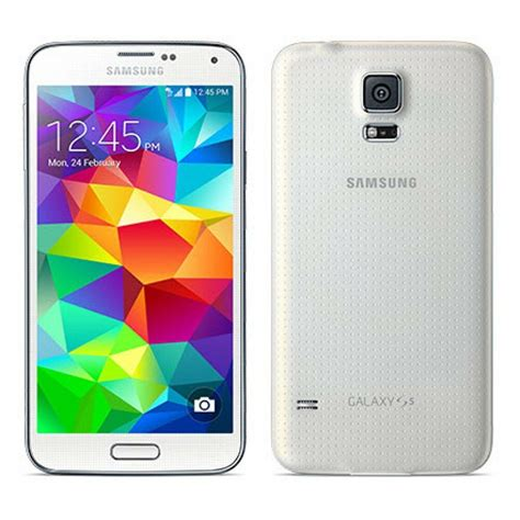 Samsung Galaxy S5 SM-G900A - 16GB - Shimmery White AT&T