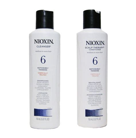 Nioxin System 6 Cleanser and Scalp Therapy Duo Set 5