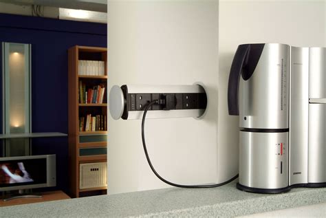 EVOline Pop-Up socket can be fitted in a variety of ways