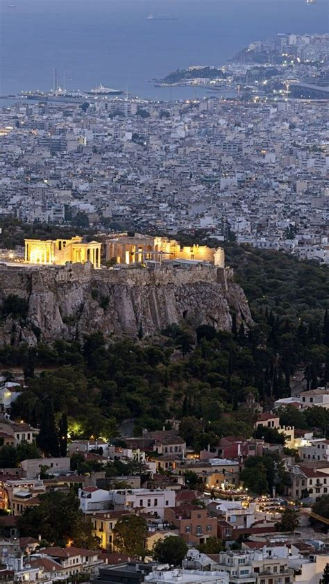 Athens Acropolis iPhone 5 wallpapers, backgrounds, 640 x