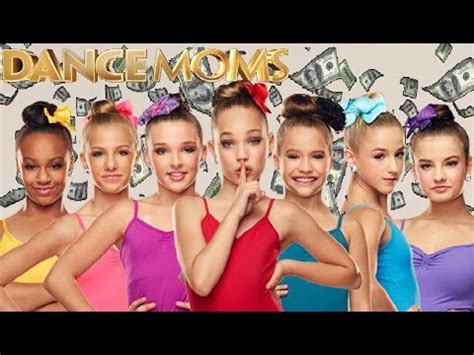 the Top 8 Richest girls on Dance Moms! - YouTube