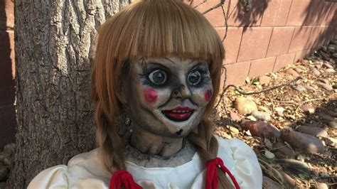 Annabelle Doll 1:1 Scale Replica Prop - YouTube