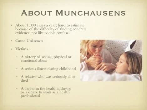 Munchausen Syndrome, Autism, and Self-Diagnosis | Cortical