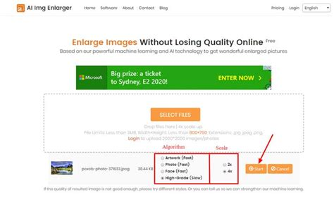 How to Increase Image Size and Resolution Online Free