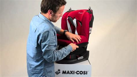 Maxi-Cosi Tobi- How to put the cover on - YouTube