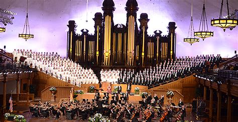 Tabernacle Choir Easter Concert Commemorates Events