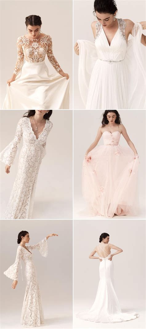 BHLDN 2018 Spring Wedding Dresses and Accessories For