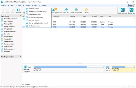 EaseUS Partition Master Free Edition Review – TechWafer