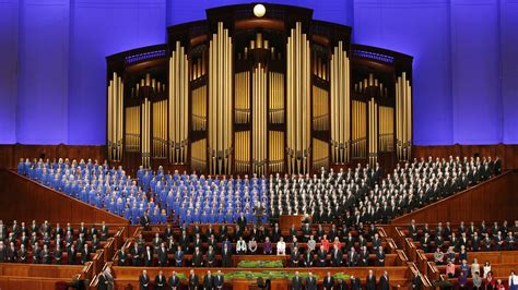 Mormon Tabernacle Choir Singer Quits Over Trump