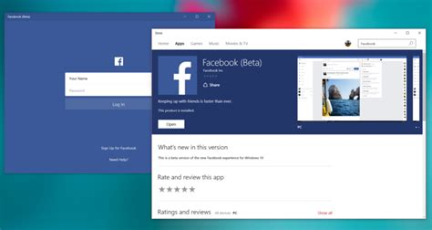 Facebook Windows 10 PC private beta updated with new emoji
