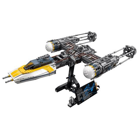LEGO officially unveils the 75181 UCS Y-Wing Starfighter