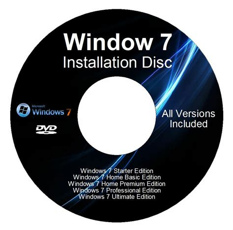Windows 7 32&64 Bit Reinstall With Driver Disk All