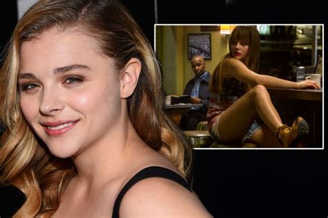Chloe Moretz begged film director to let her play a