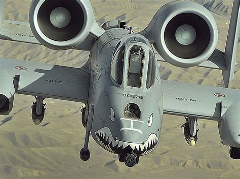 The A-10 Thunderbolt II Is The Toughest, Most Ferocious