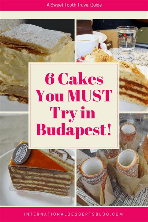 The Best Cafes and Cakes in Budapest - International