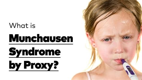 Munchausen Syndrome by Proxy - an evil form of child abuse