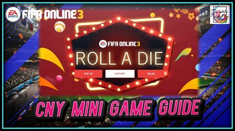 ~Roll A Die!~ CNY Mini Game Guide - FIFA ONLINE 3 - YouTube